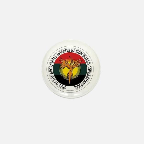 Aboriginal Moabite Nation Seal Mini Button