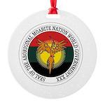 Aboriginal Moabite Nation Seal Round Ornament
