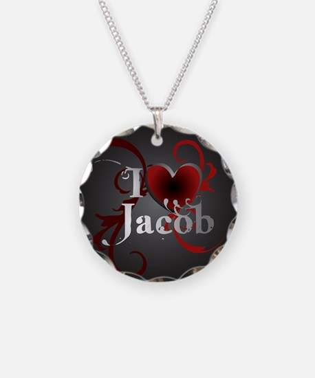 I heart Jacob Necklace