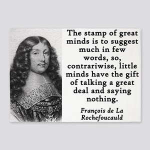 The Stamp Of Great Minds - Francois de la Rochefou