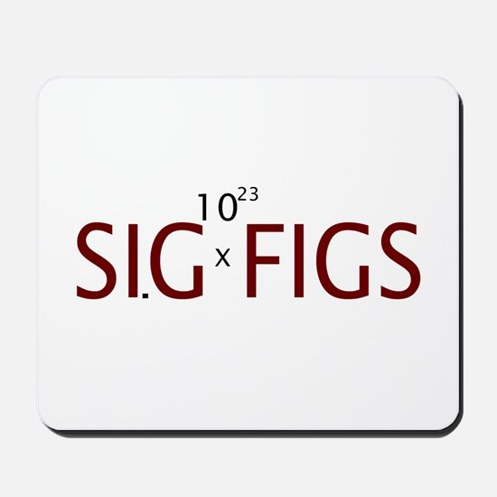 Sig Figs Mousepad