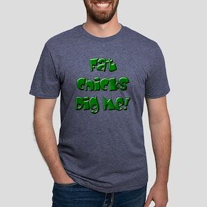 NoFat10 Mens Tri-blend T-Shirt
