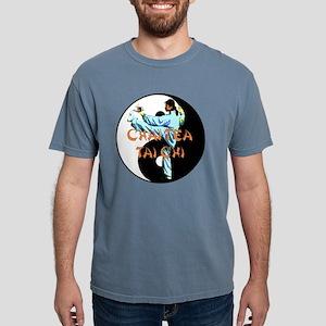Tai Chi yin yang2 copy.p Mens Comfort Colors Shirt