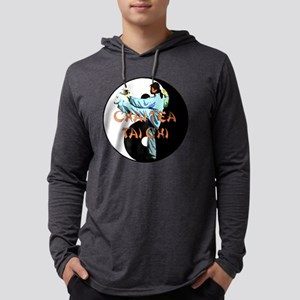 Tai Chi yin yang2 copy Mens Hooded Shirt
