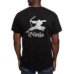 iNinja Men's Fitted T-Shirt (dark)