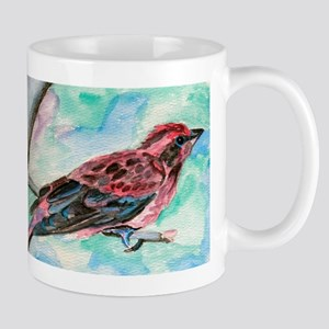 Purple Finch Mug