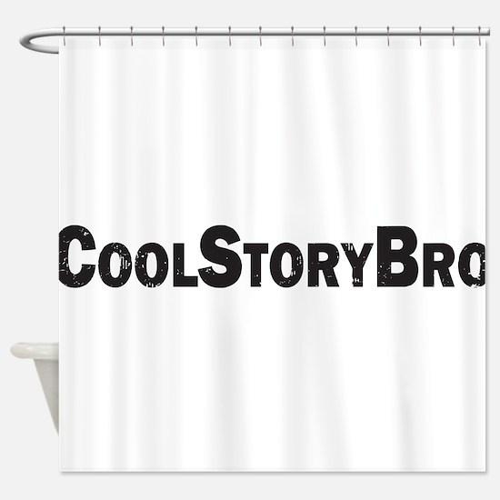 CoolStoryBro Shower Curtain