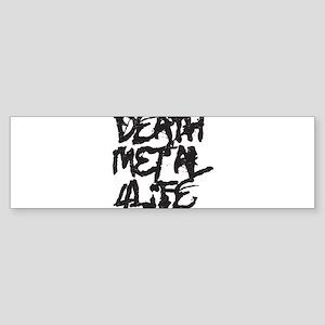 Death Metal 4 Life Sticker (Bumper)