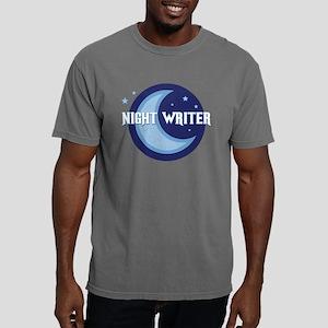 NightWriter-circlev2 Mens Comfort Colors Shirt