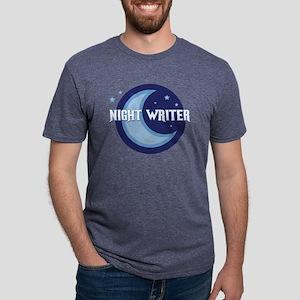 NightWriter-circlev2 Mens Tri-blend T-Shirt
