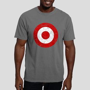 Peru Roundel Cracked Mens Comfort Colors Shirt