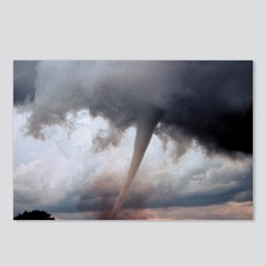 Tornado Fury Postcards (Package of 8)