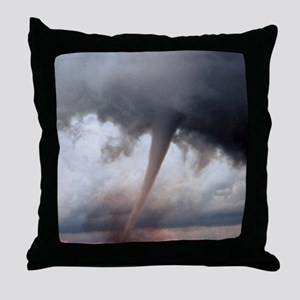 Tornado Fury Throw Pillow