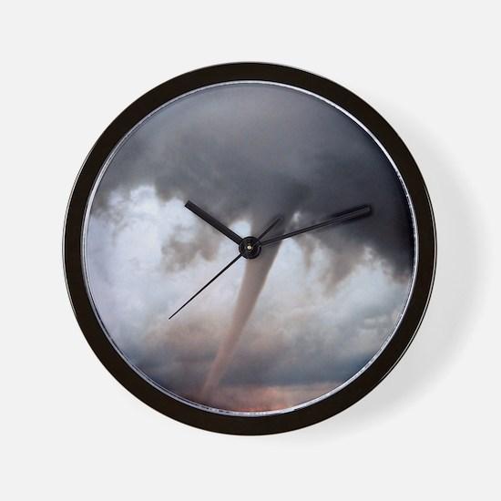 Tornado Fury Wall Clock