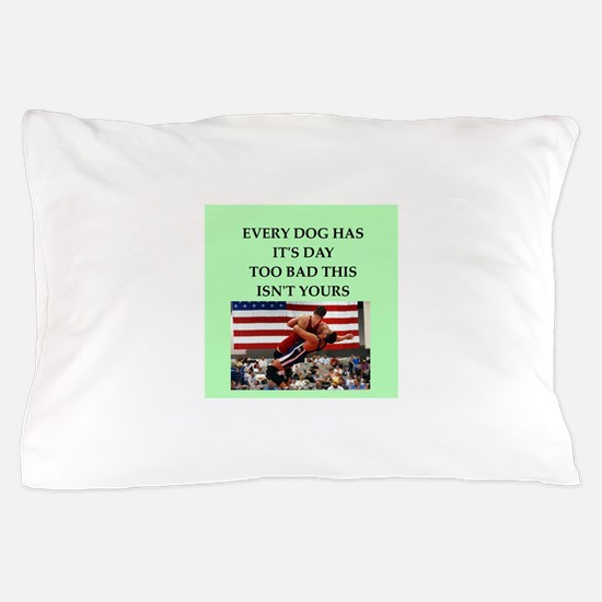 wrestling Pillow Case