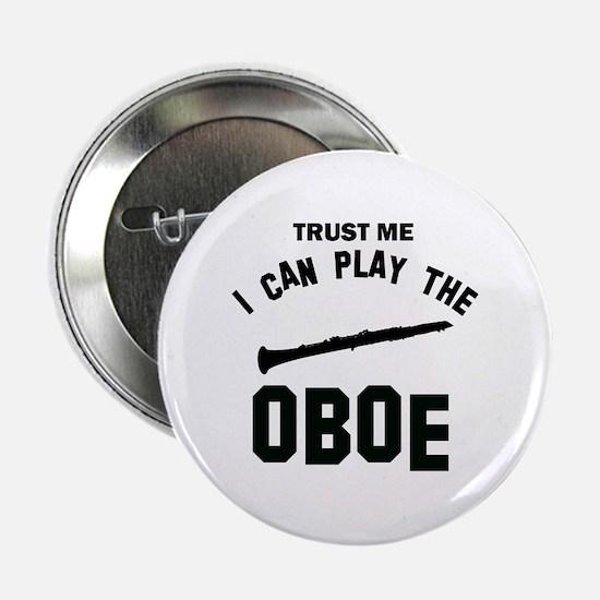 """Cool Oboe designs 2.25"""" Button"""
