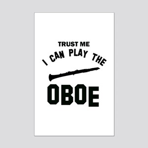 Cool Oboe designs Mini Poster Print