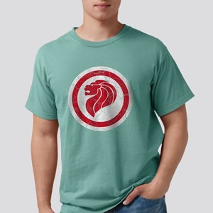 Singapore Lion Roundel C Mens Comfort Colors Shirt