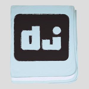 DJ baby blanket