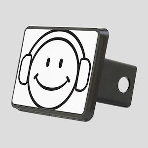 Smiley DJ Rectangular Hitch Cover