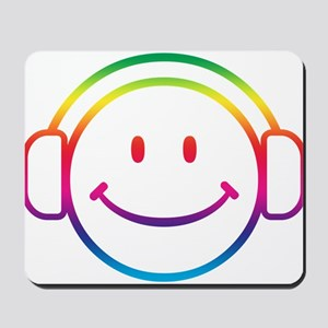 Smiley DJ Mousepad