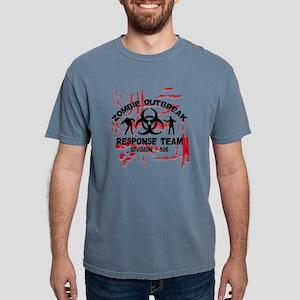 Zombie Response Team Mens Comfort Colors Shirt