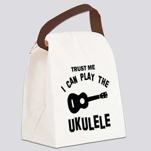 Cool Ukulele designs Canvas Lunch Bag