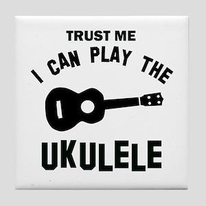 Cool Ukulele designs Tile Coaster