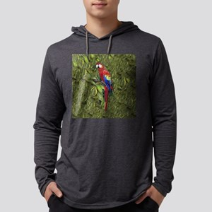 SCARLETT MACAW SQUARE Mens Hooded Shirt