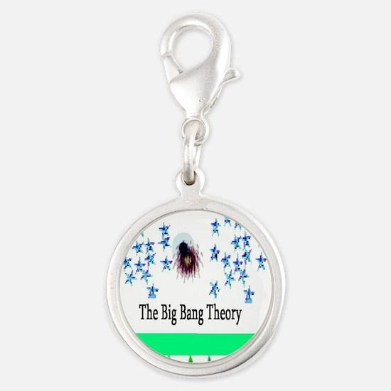 Big Bang Theory Silver Round Charm