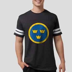 Sweden Roundel Cracked Mens Football Shirt