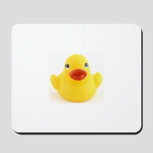 Yellow rubber Duck Mousepad