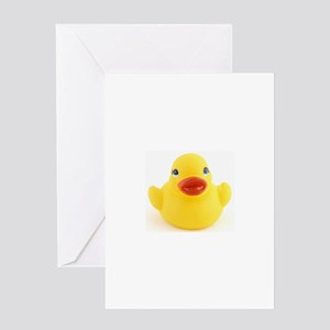 Yellow rubber Duck Greeting Card