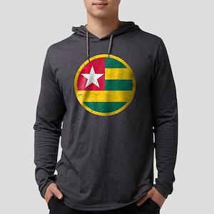 Togo Roundel Cracked Mens Hooded Shirt