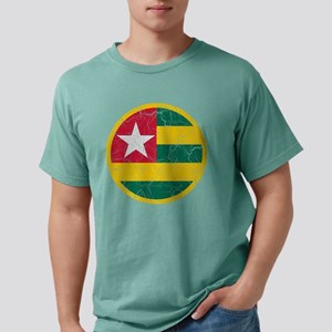 Togo Roundel Cracked Mens Comfort Colors Shirt