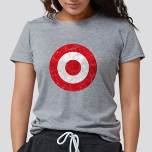 Turkey Roundel Cracked.pn Womens Tri-blend T-Shirt