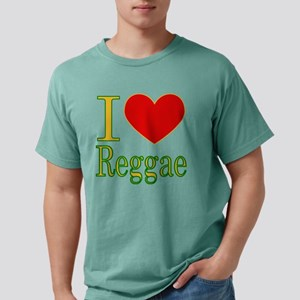 iluvreggae Mens Comfort Colors Shirt