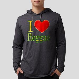 iluvreggae Mens Hooded Shirt