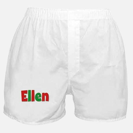 Ellen Christmas Boxer Shorts