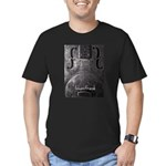resonator Men's Fitted T-Shirt (dark)