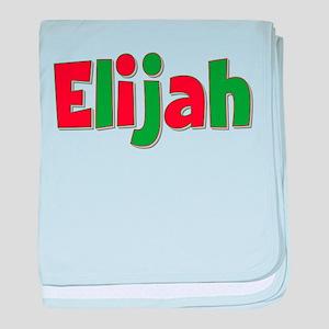Elijah Christmas baby blanket