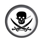 Pirate Fencer Wall Clock
