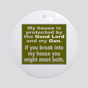 2ND/SECOND AMENDMENT Ornament (Round)