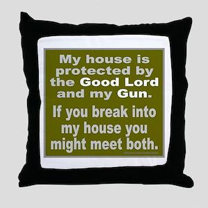 2ND/SECOND AMENDMENT Throw Pillow