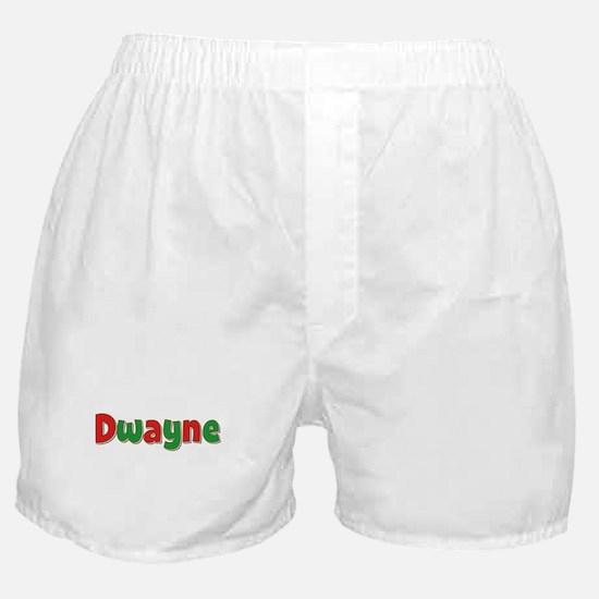 Dwayne Christmas Boxer Shorts