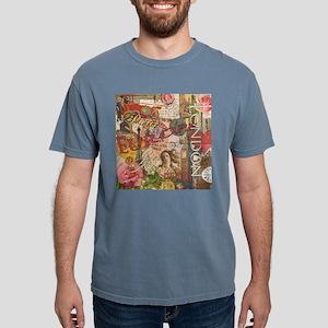 European Travel Vintage  Mens Comfort Colors Shirt
