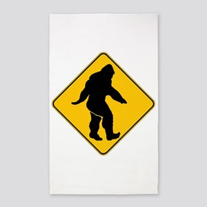 Bigfoot crossing 3'x5' Area Rug