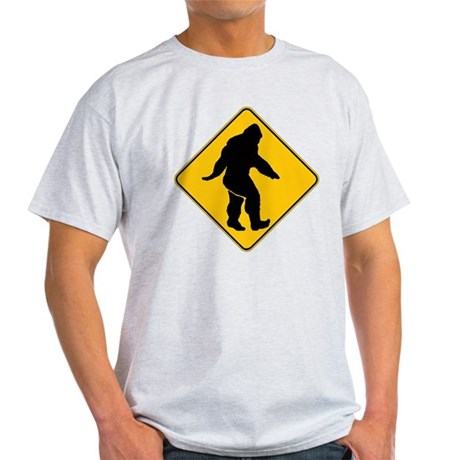 Bigfoot crossing Light T-Shirt
