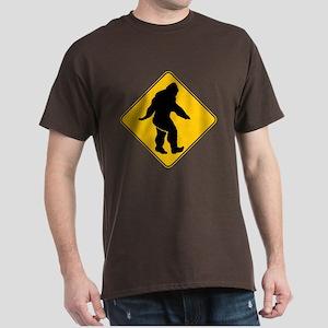 Bigfoot crossing Dark T-Shirt