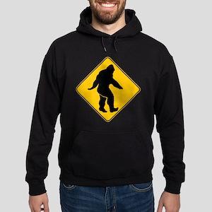 Bigfoot crossing Hoodie (dark)